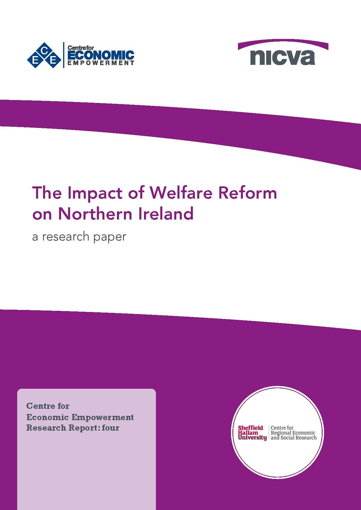 The Impact of Welfare Reform on Northern Ireland   NICVA