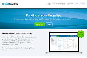 Grant Tracker website