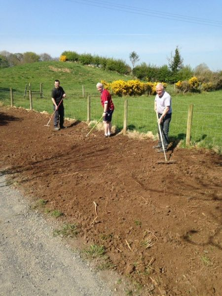 Bann Valley Community Group making pathways suitable for social distancing