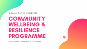 Community Wellbeing and Resilience Programme launched