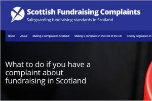 Scottish Fundraising Complaints Website