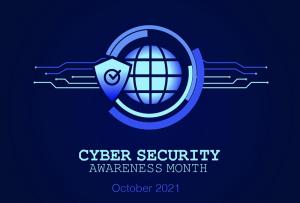 Cyber Security Awareness Month Oct 2021 image
