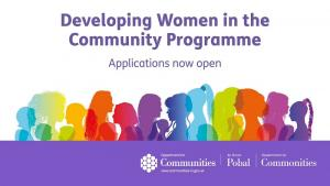DfC Developing Women in the Community grants programme image