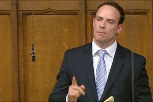 Picture of Dominic Raab MP, the new Brexit Secretary