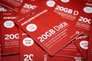 Free 20GB SIM cards for registered charities