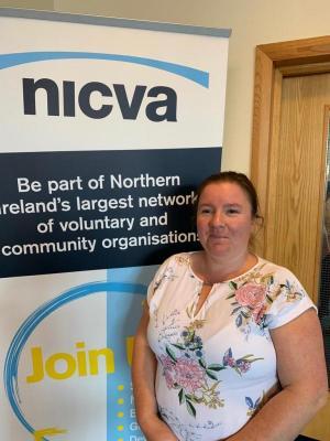 Marie Anne Templeman from East Belfast Community Development Agency