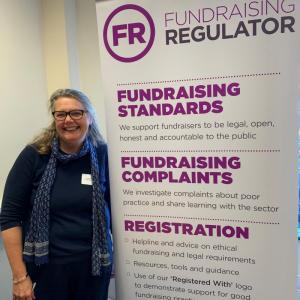Joanne McDowell, Northern Ireland Manager for the Fundraising Regulator