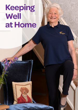 Keeping Well at Home Booklet launched