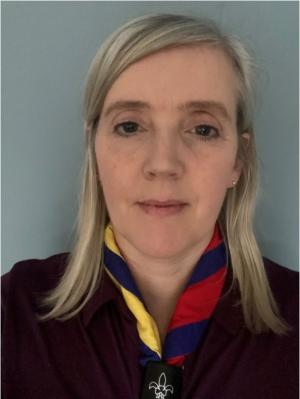 Michelle Magee, Office Manager at The Scout Foundation NI