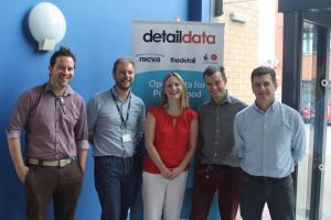 Detail Data staff and David Tarrant (ODI)