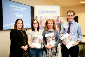 Basic bookkeeping for small charities, sponsored by the Halifax Foundation