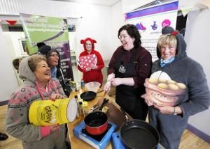 Mid and East Antrim Agewell Partnership Ready Steady Cook event