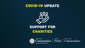 Support for charities image