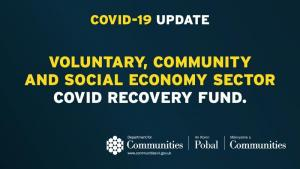VCSE COVID Recovery Fund reopening for applications