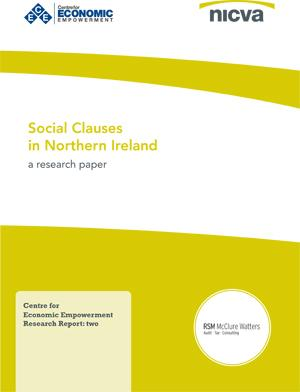 Social Clauses in Northern Ireland Report Cover
