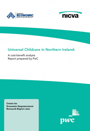 Universal Childcare in Northern Ireland Report Front Cover