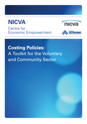 Costing Policies: A Toolkit for the Voluntay and Community Sector