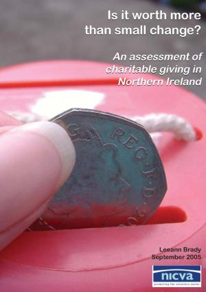 Charitable Giving in Northern Ireland 2005 Cover