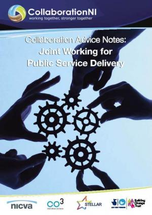 Joint Working for Public Service Delivery Cover