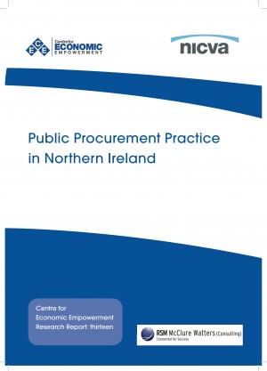 Procurement Practice in NI