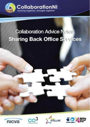 Sharing Back Office Services Cover