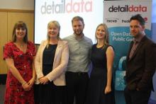 The Detail Data team pictured at the launch