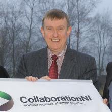 Mervyn Storey MLA promoting collaboration