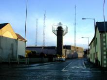 A watchtower in Crossmaglen