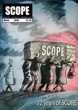 Scope magazine's final printed copy, March 2008