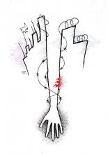 Self Harm illustration