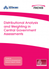 Distributional Analysis and Weighting in Central Government Assessments